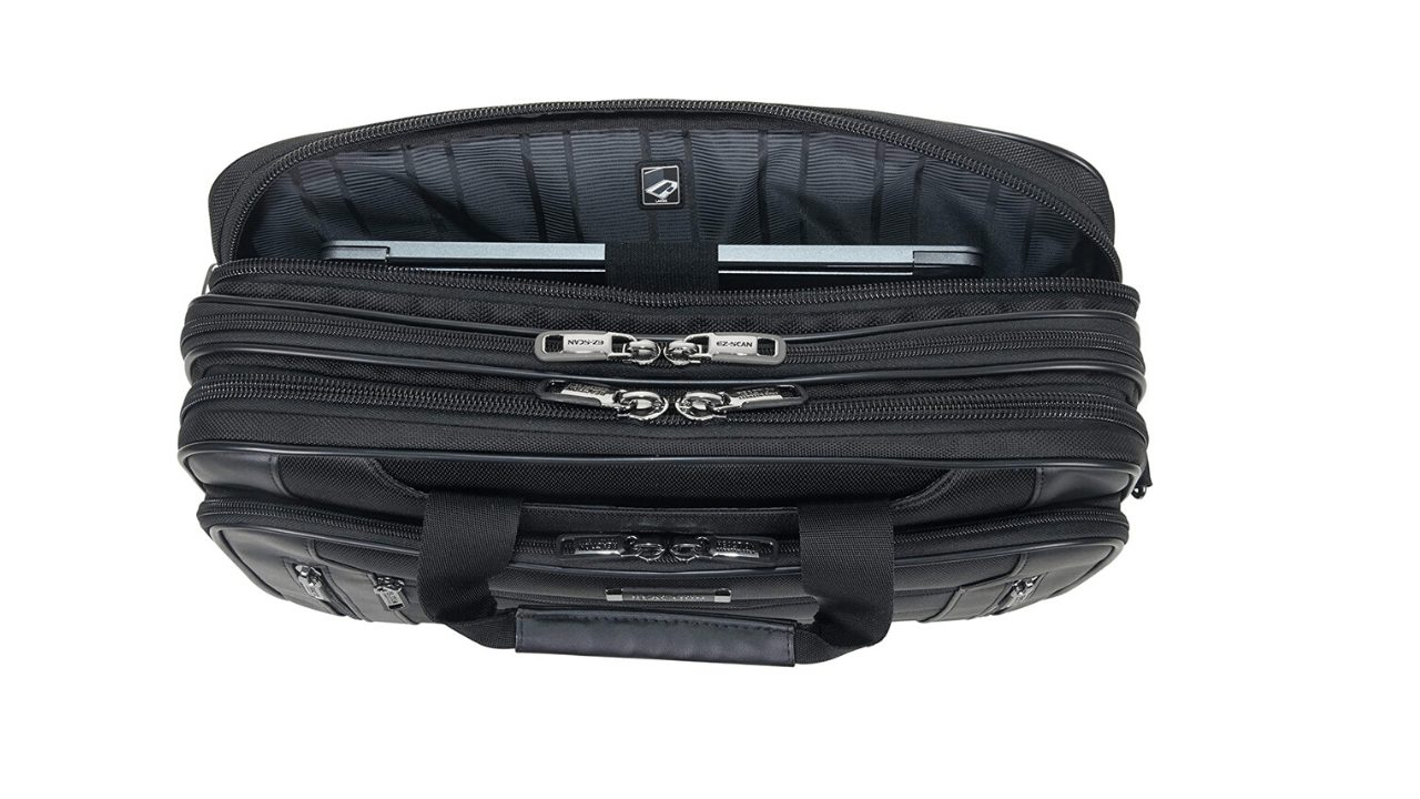 Kenneth Cole Reaction Keystone Zips and Compartments 2