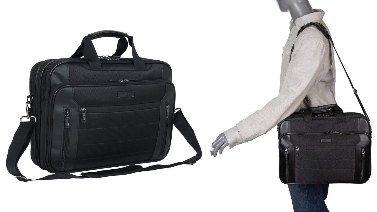 Kenneth Cole Reaction Keystone Zips and Compartments