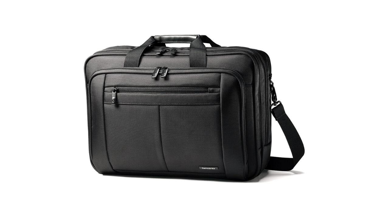 Samsonite Classic Gusset Best Laptop Bags For Men