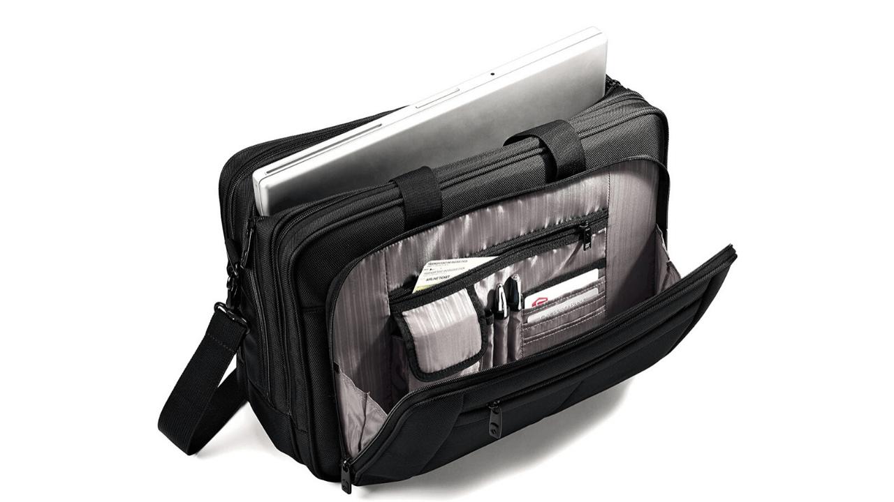 Smasonite Laptop Bag Compartments