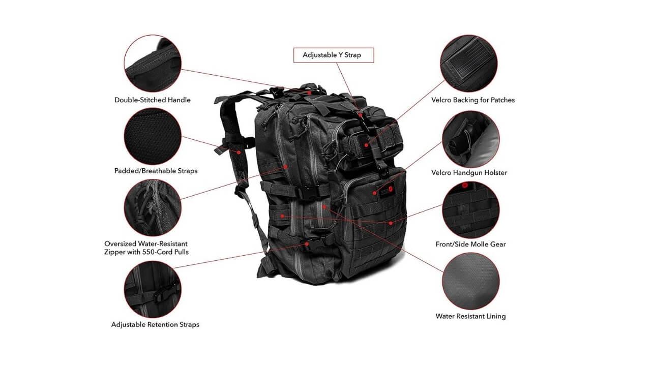24BattlePack Best Tactical Backpack Under 50$