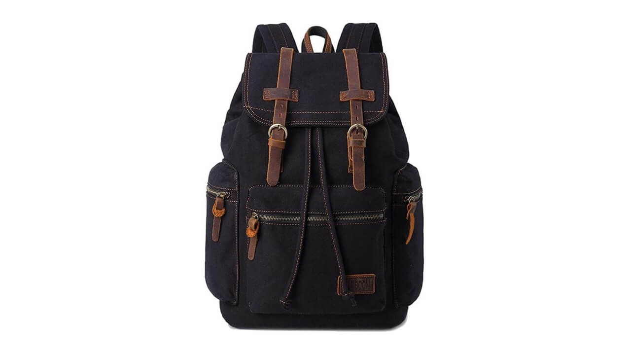 Bluboon Canvas Backpacks