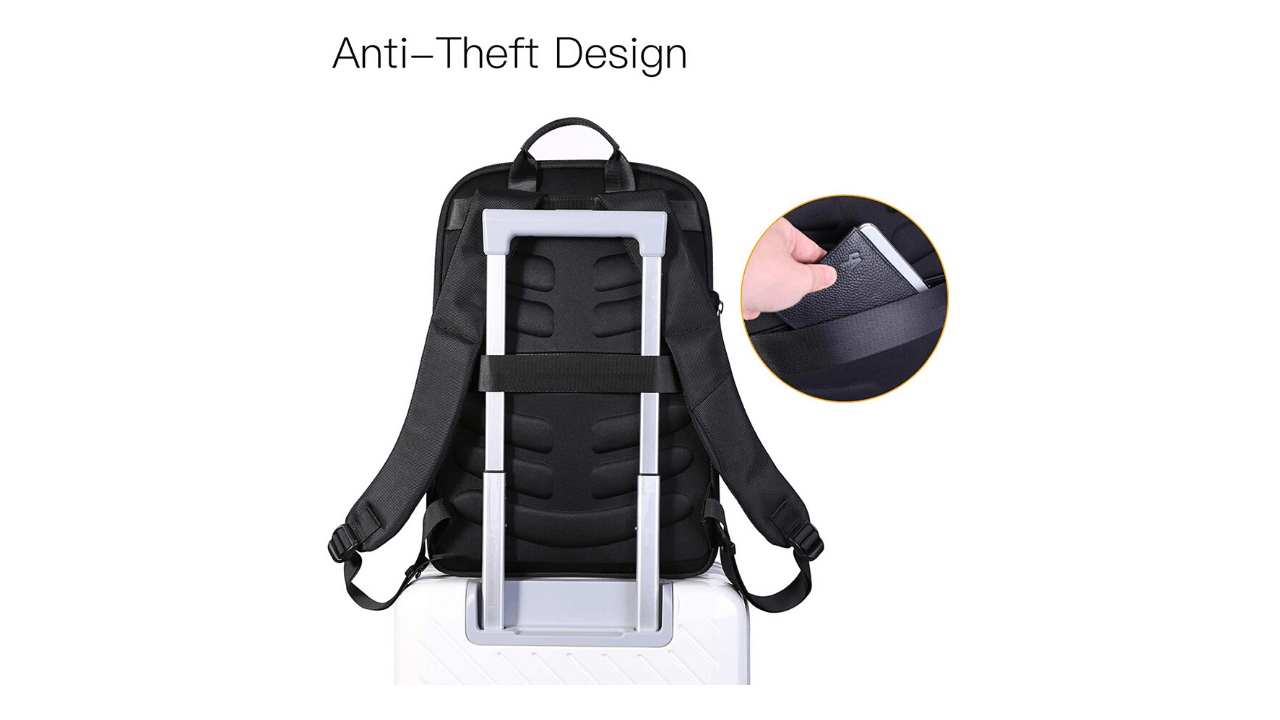 KOOSOM USB Laptop Backpacks