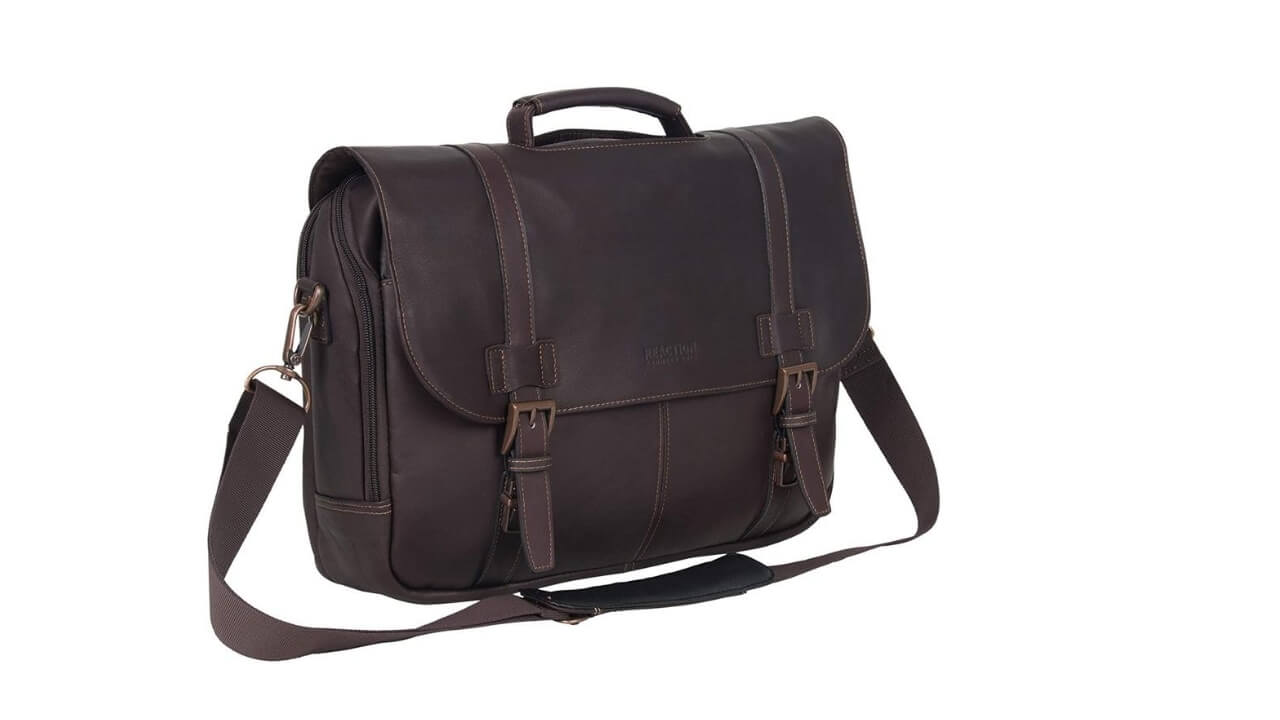 Kenneth Cole Laptop Messenger Bag For College Students