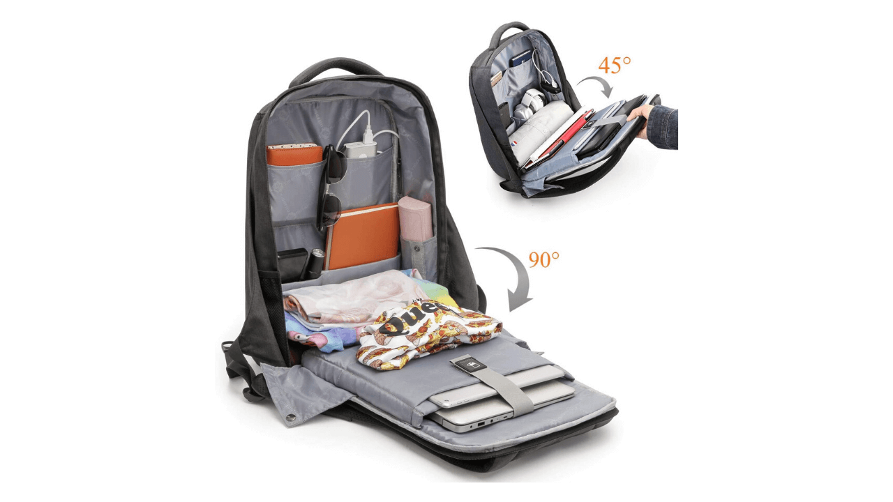 Kuprine Laptop Compartments