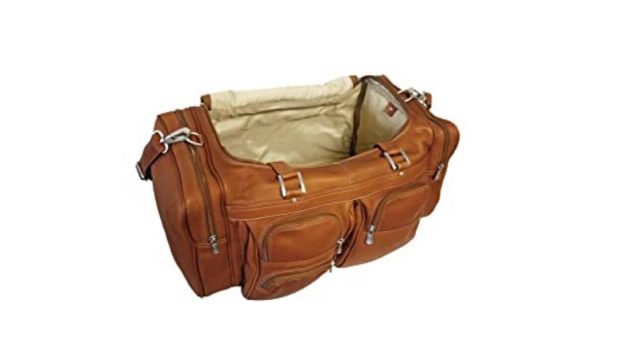 Piel Duffle Bag Internal