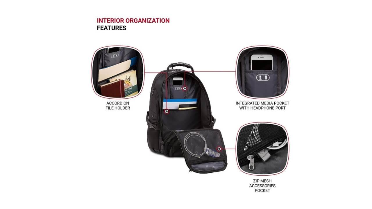 Swissgears 1900 Backpacks For College