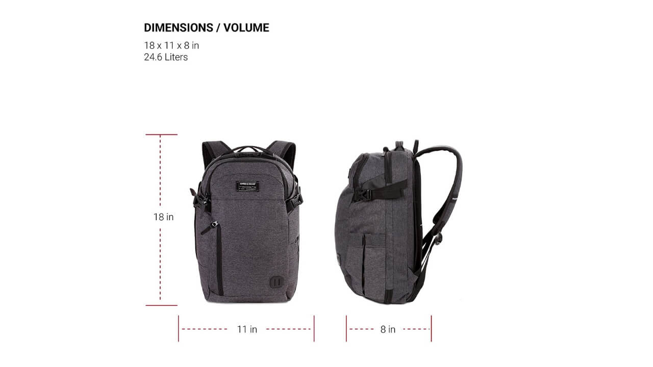 Swissgears Backpacks With Shoe Compartment Extra Features