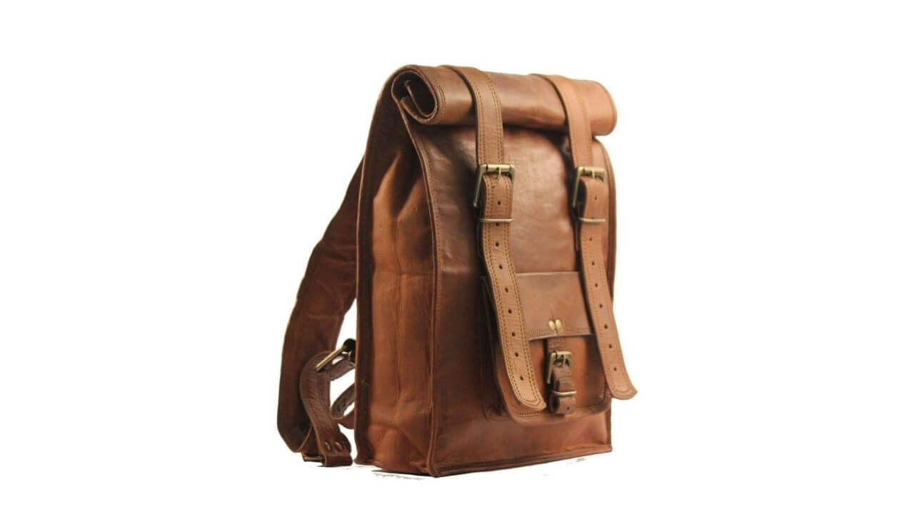Urban Dezire Vintage Leather Backpack