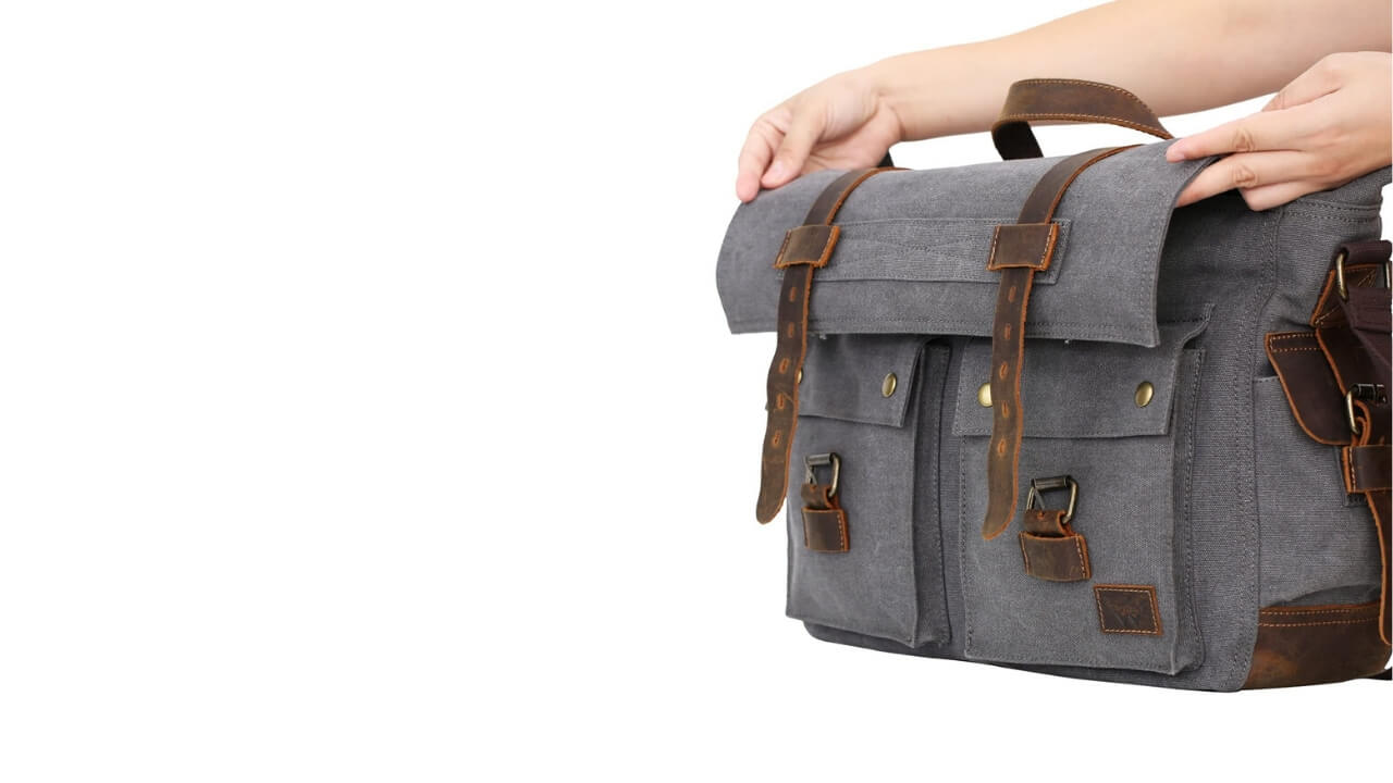 WOWBOX Messenger Bag Shoulder Strap