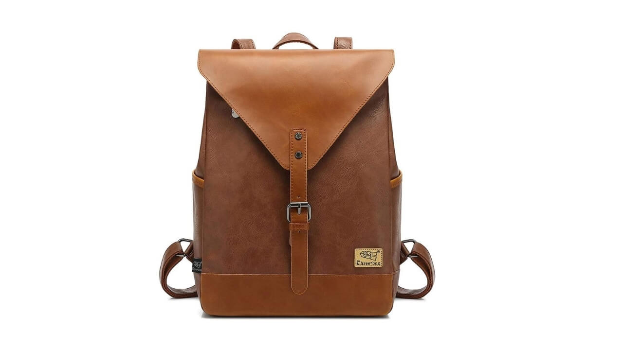 Zebella Vintage Leather Backpack