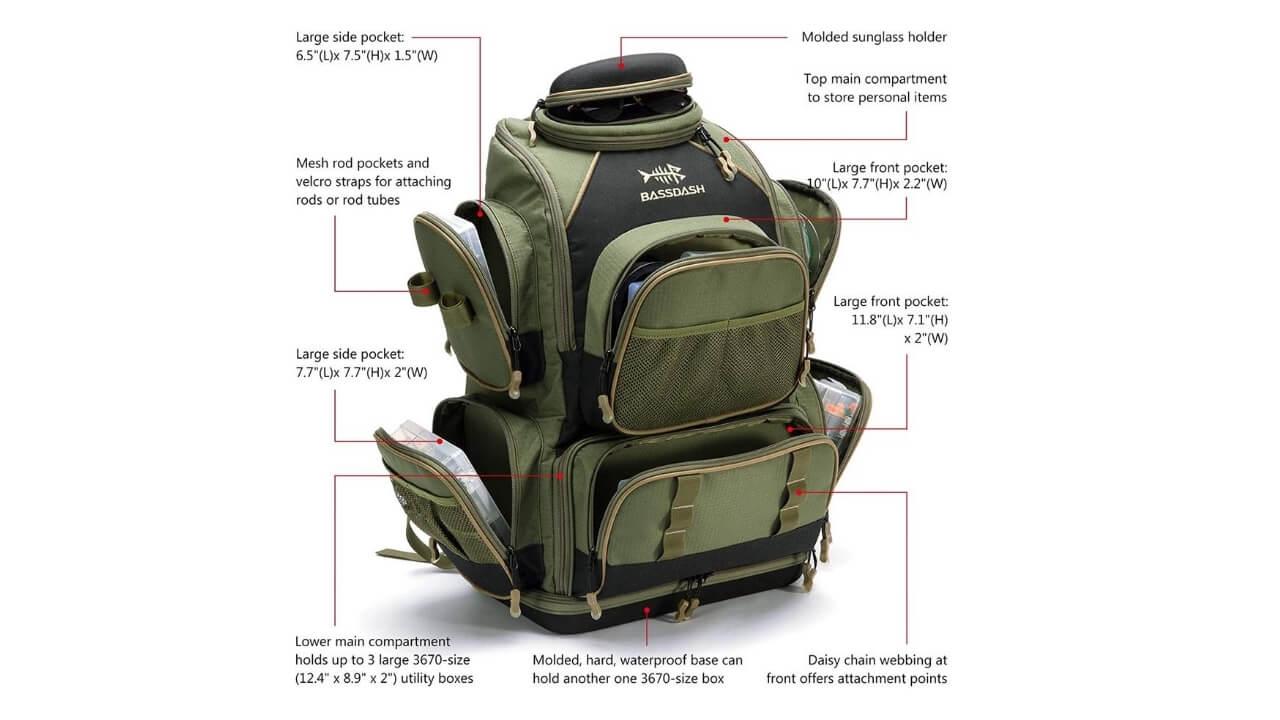 Bassdash Backpack