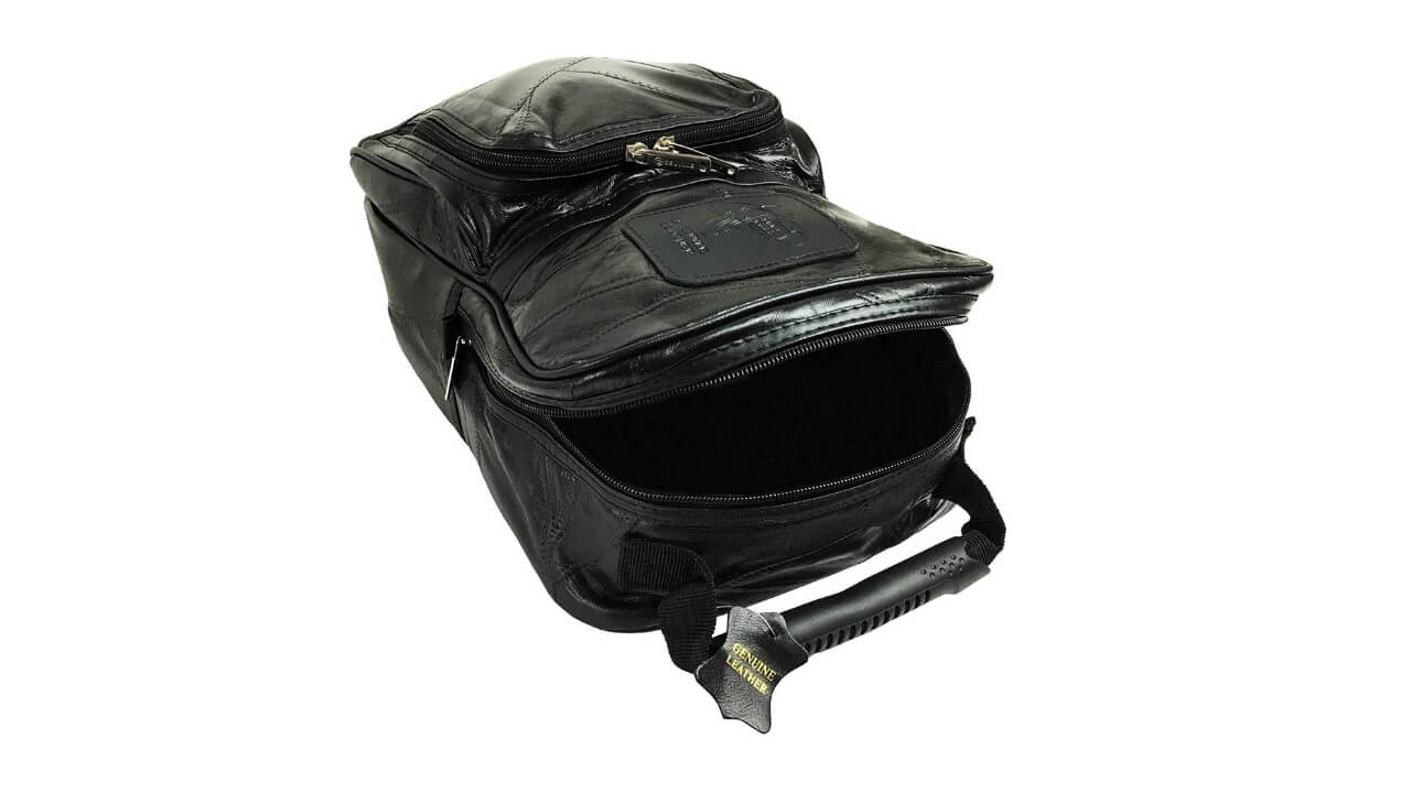Lifestyle Banquet Leather Golf Shoe Bag