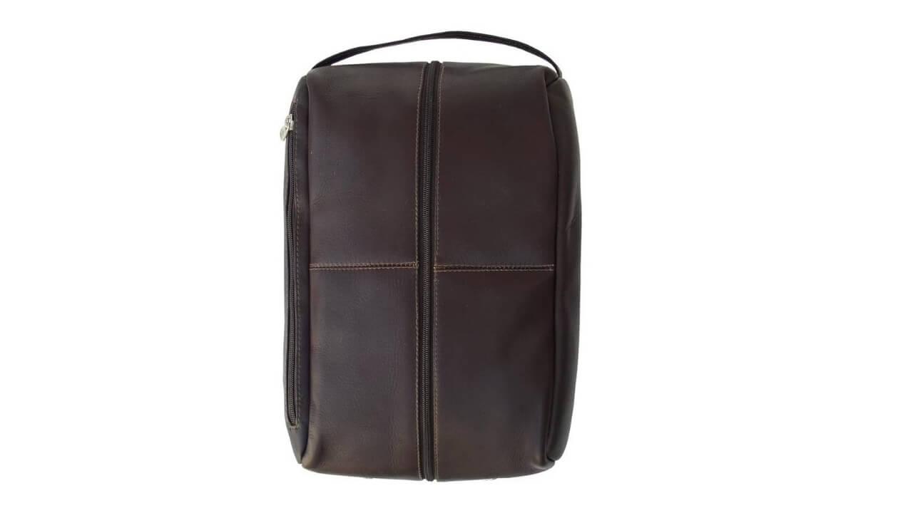 Piel Leather Golf Shoe Bag