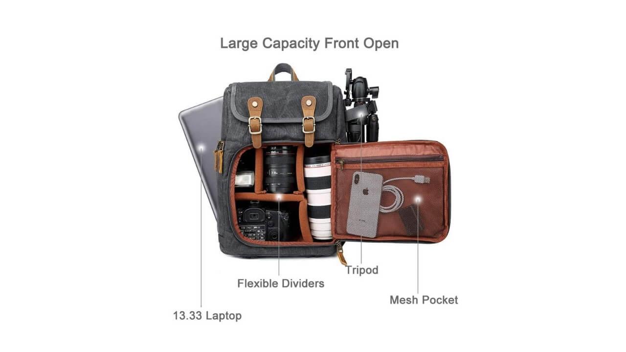 Abonnyc Camera Backpack