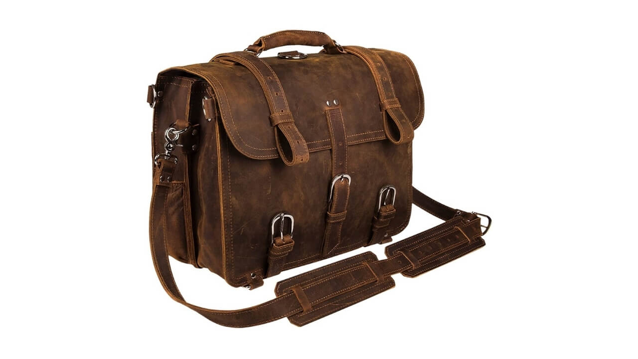 Augus Best Leather Messenger Bag