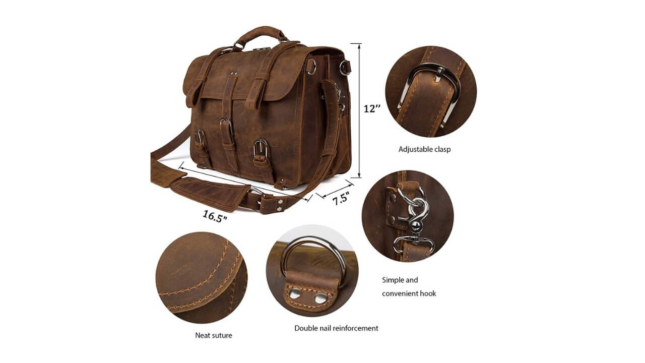 Augus Messenger Bag