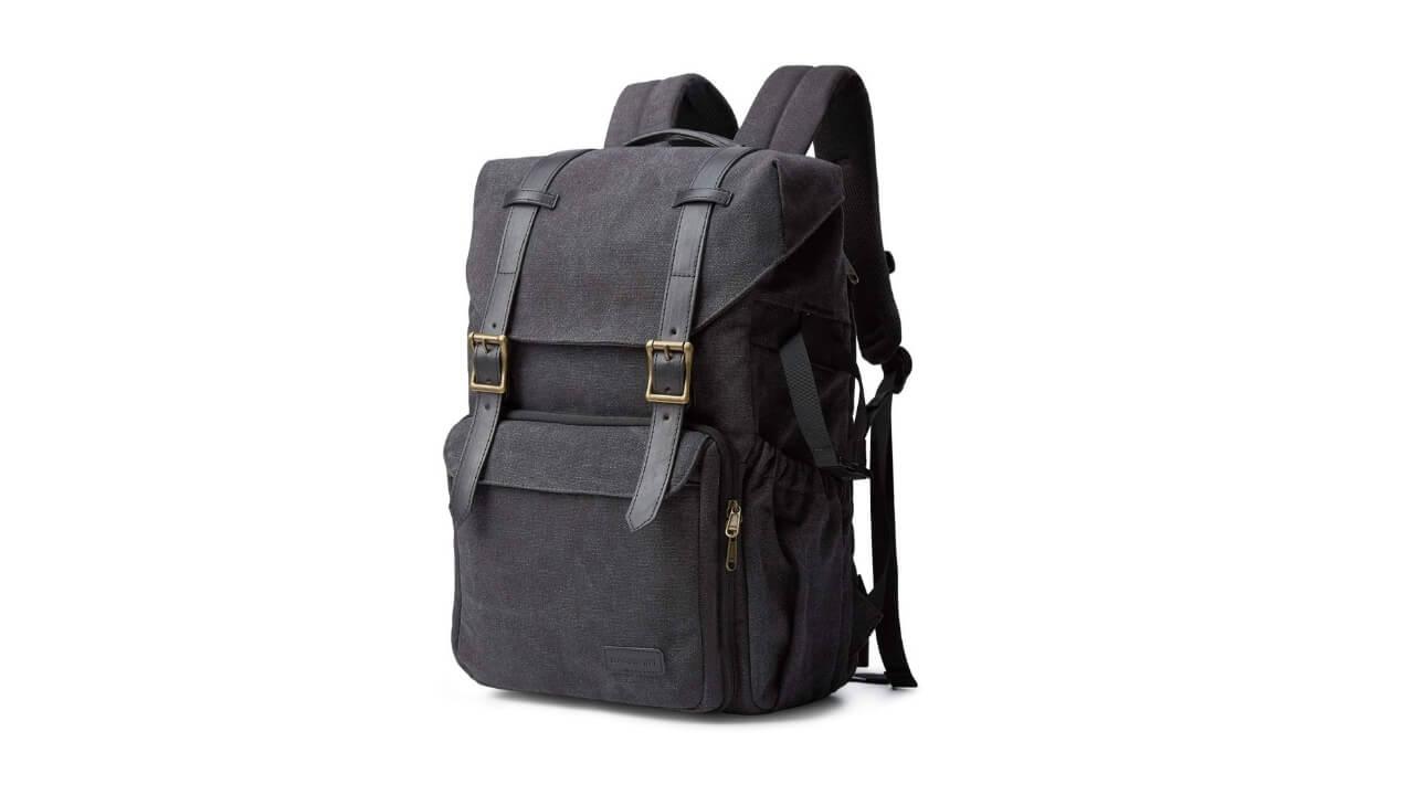 Bagsmart Canvas Camera Backpack