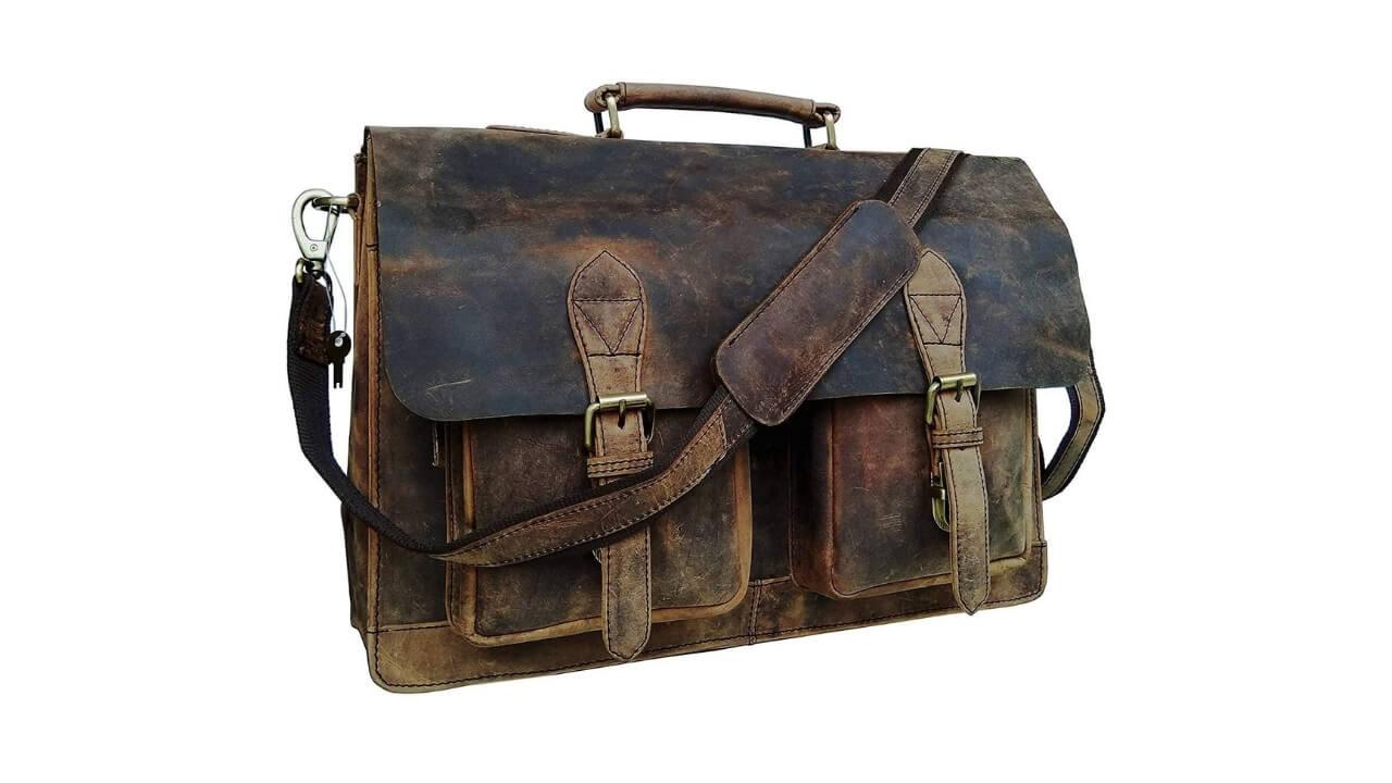 Cuero Best Leather Messenger Bag
