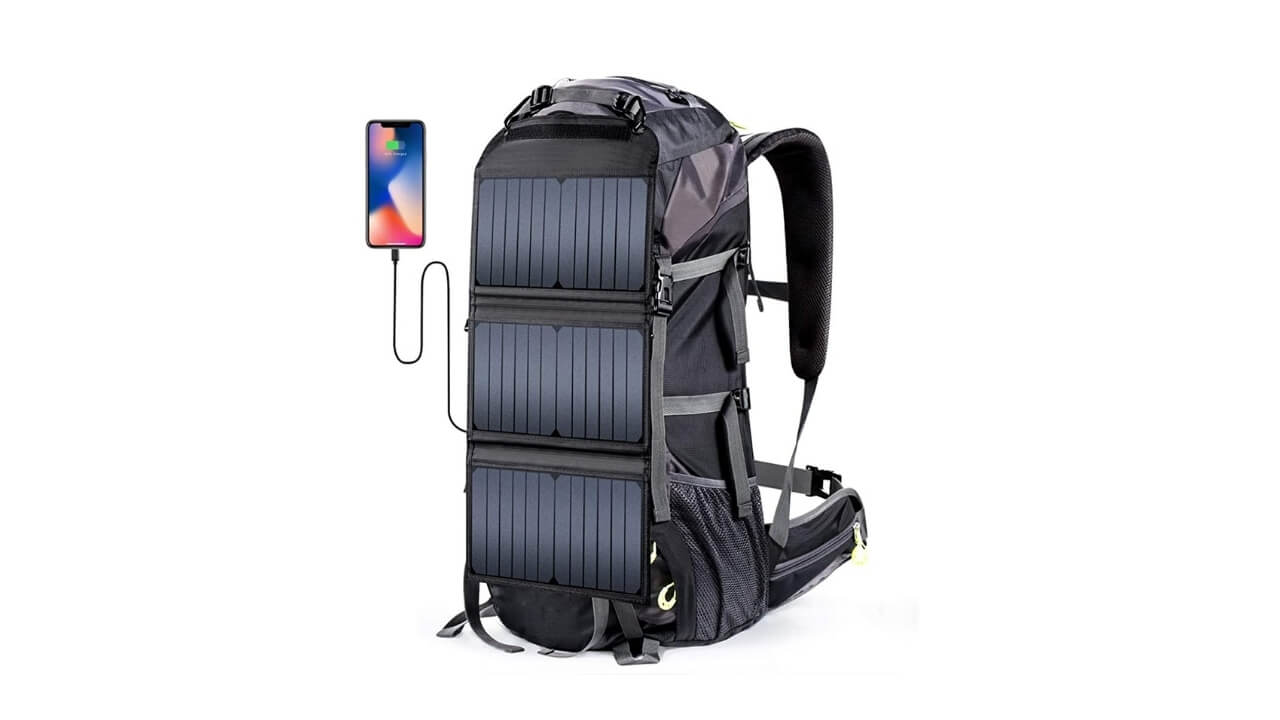 External Frame Best Solar Backpack
