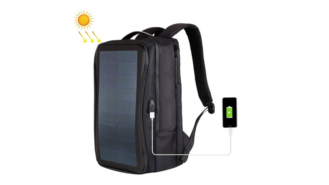 Haweel Best Solar Backpack