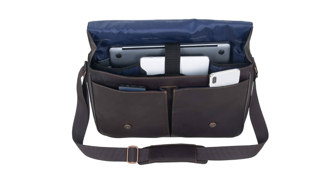 Kenneth Cole Come Messenger Bag