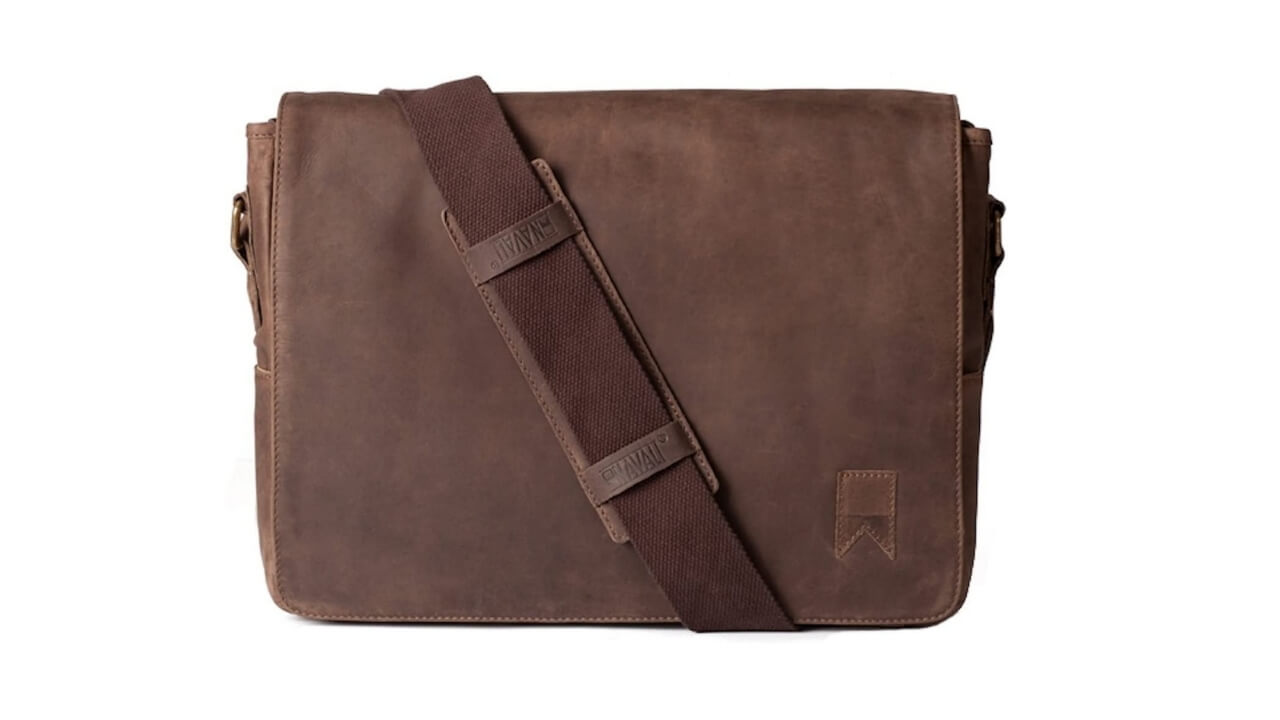 Navali Best Leather Messenger Bag