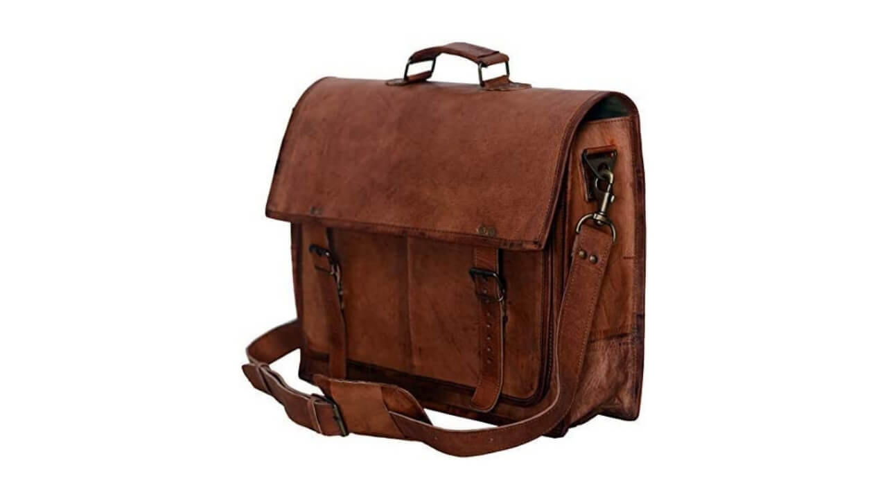 PL 18 Best Leather Messenger Bag