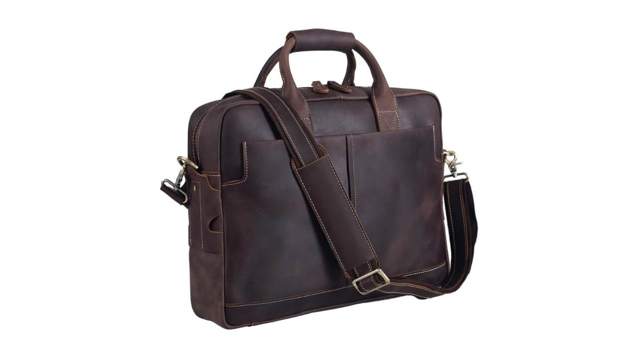 Texbo Best Leather Messenger Bag