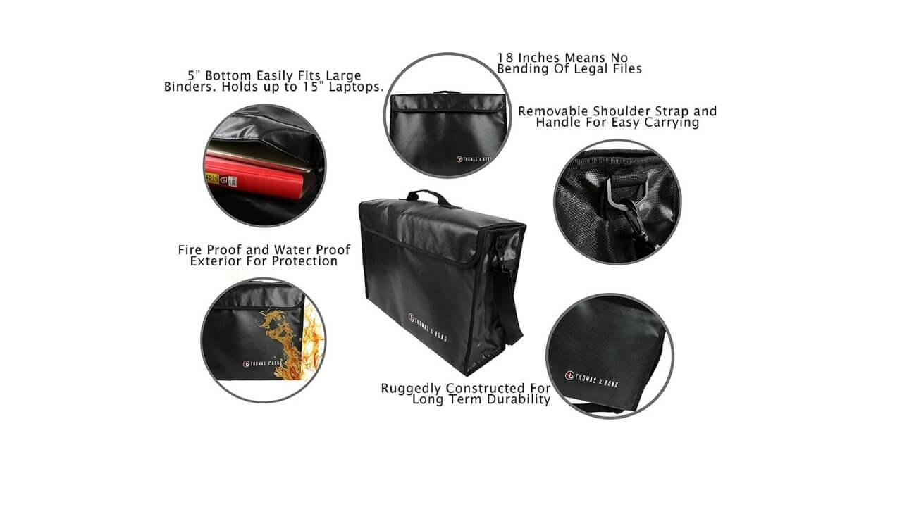 Thomas & Bond Bag Features