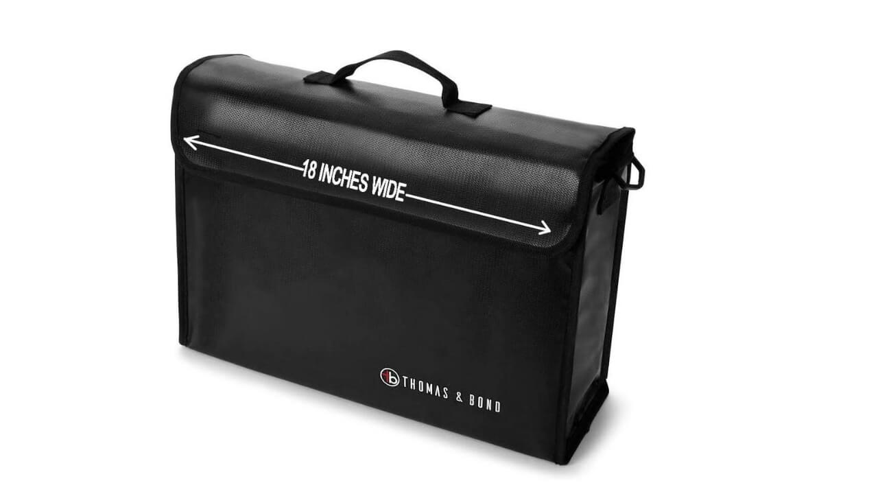 Thomas & Bond Best Fireproof Bag