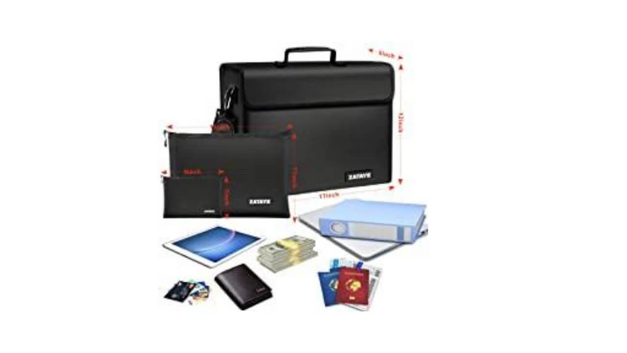 XL Fireproof Bag Features
