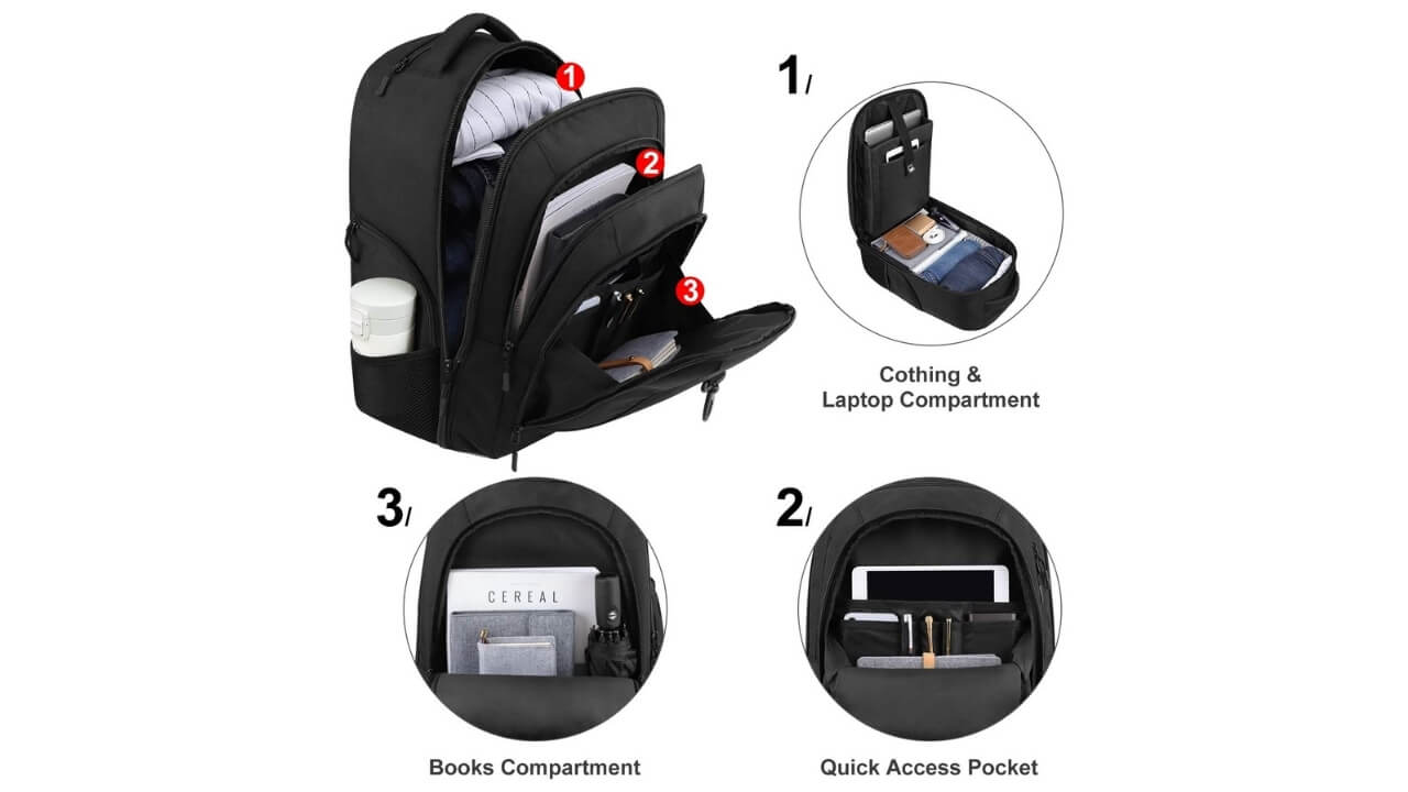Ambor Best Rolling Backpack