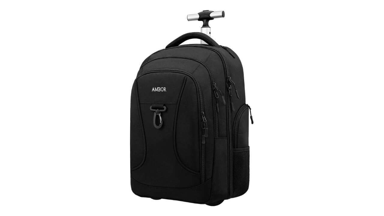 Ambor Best Rolling Backpack For Travel