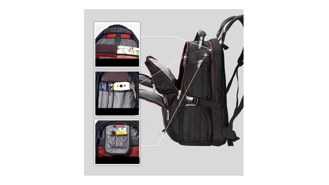 Freebiz Laptop Backpack
