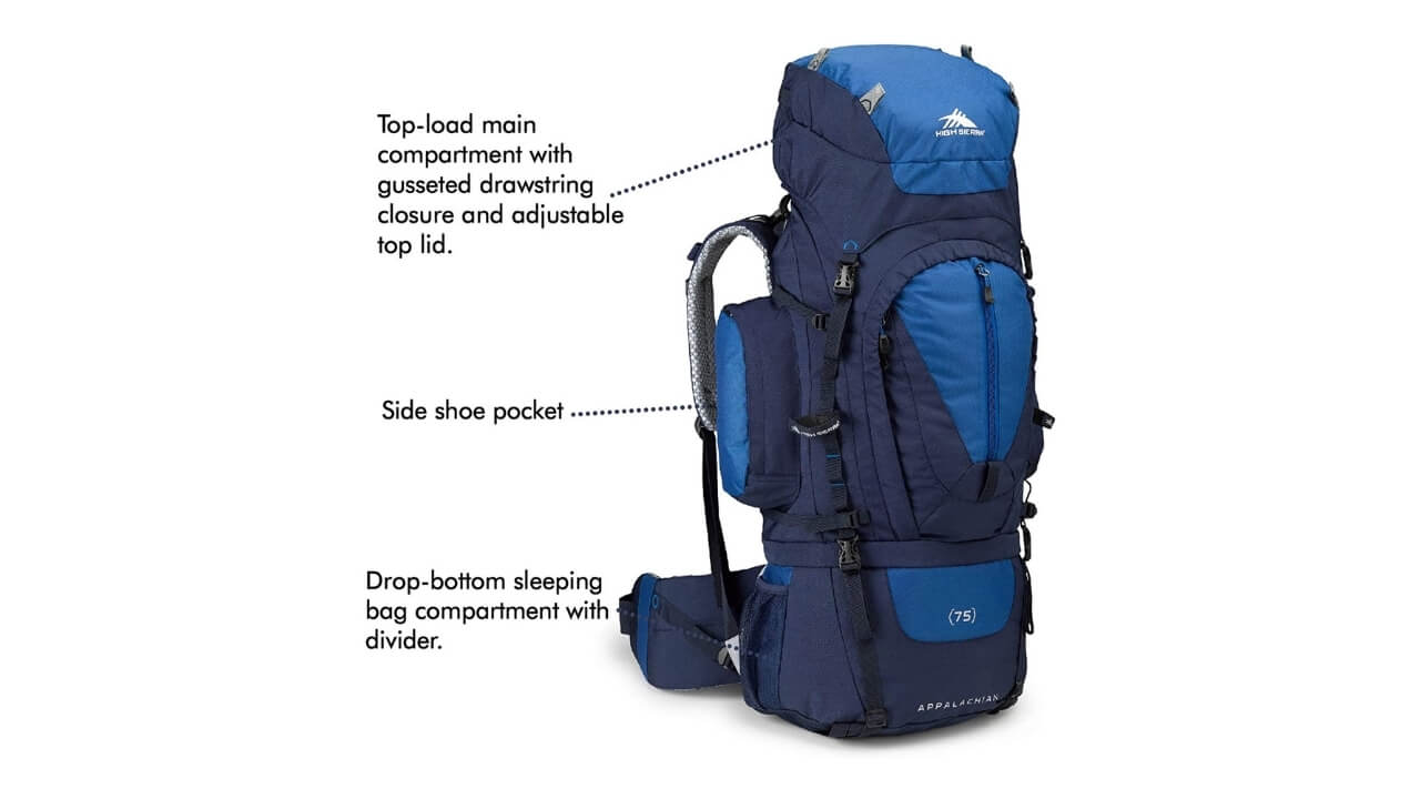 High Sierra Appalachian Backpack