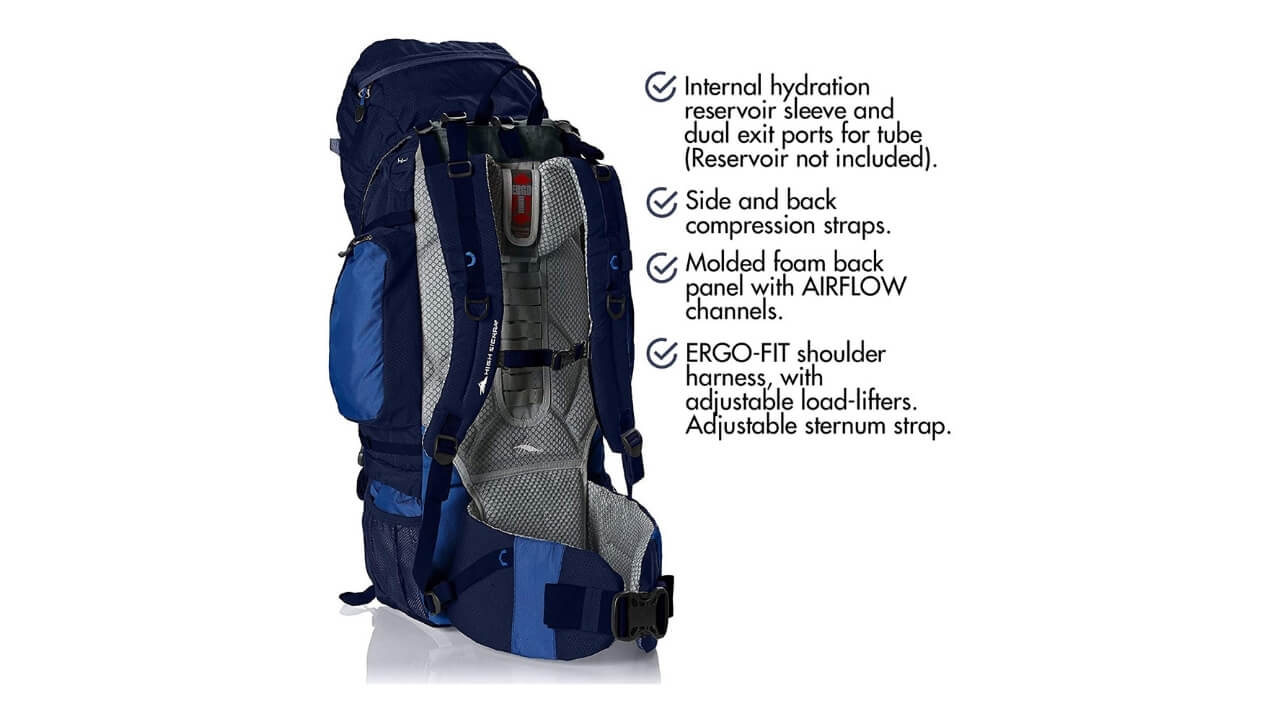 High Sierra Appalachian External Frame Backpack