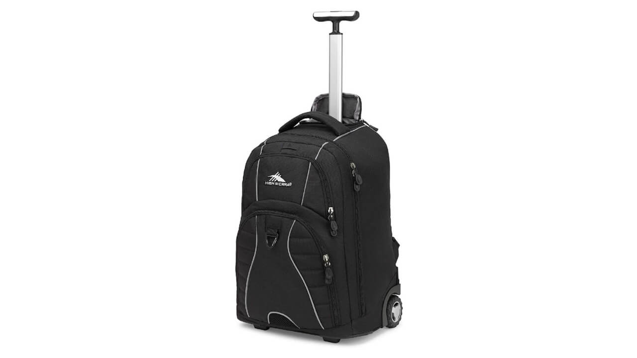 High Sierra Best Rolling Backpack For Travel