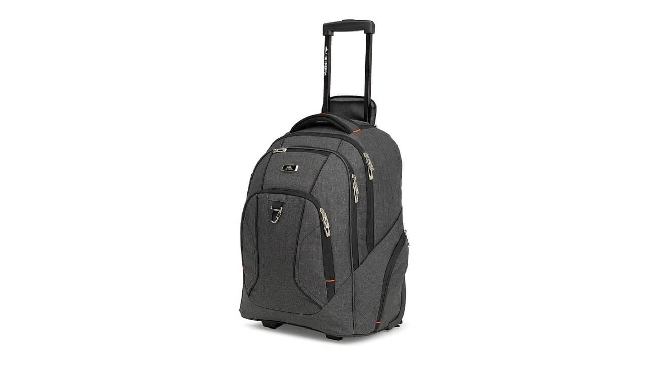 High Sierra Endeavor Best Wheeled Backpack For Europe Travel