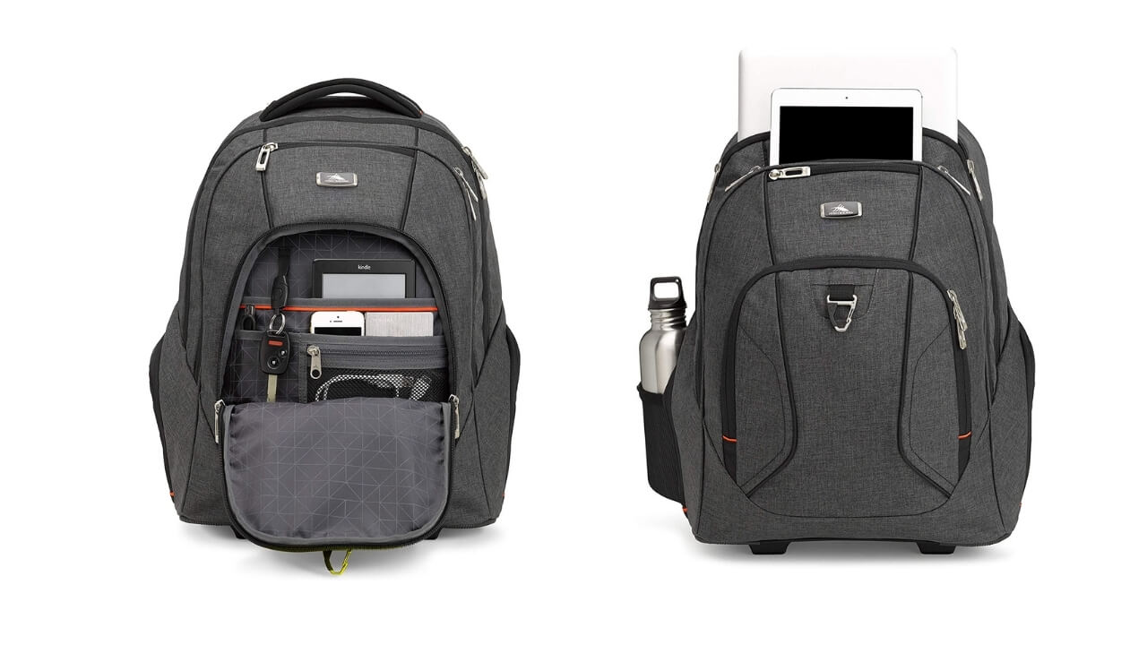 High Sierra Endeavor Rolling Backpack