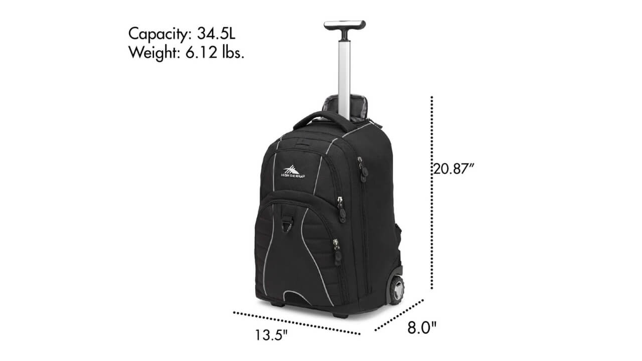 High Sierra Freewheels Backpack