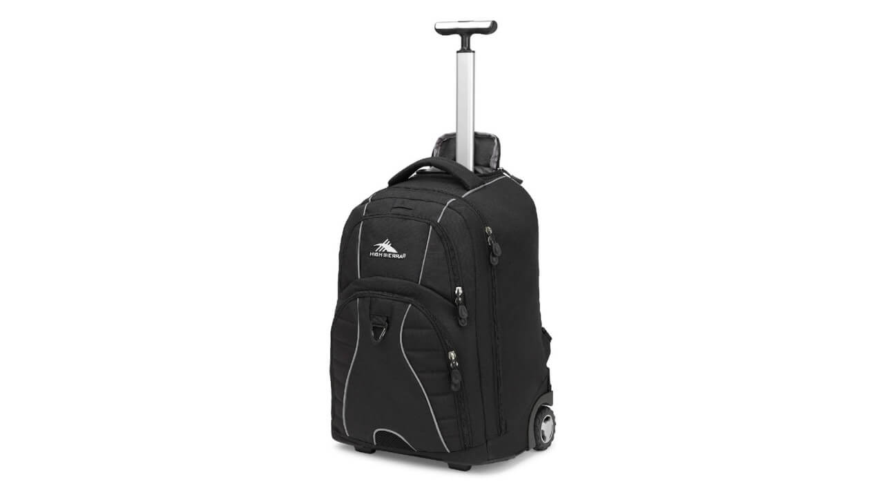 High Sierra Freewheels Best Wheeled Backpack For Europe Travel
