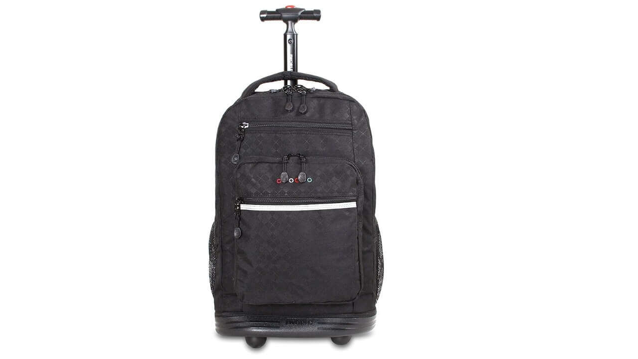 J World Best Rolling Backpack For Travel