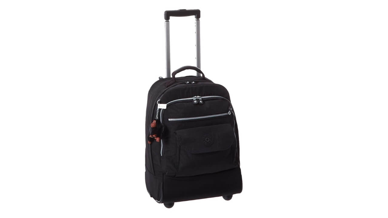 Kipling Best Wheeled Backpack For Europe Travel
