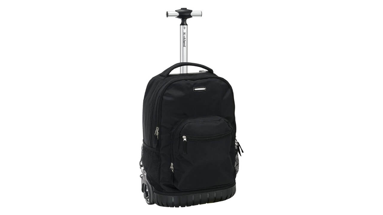 Rockland Best Wheeled Backpack For Europe Travel