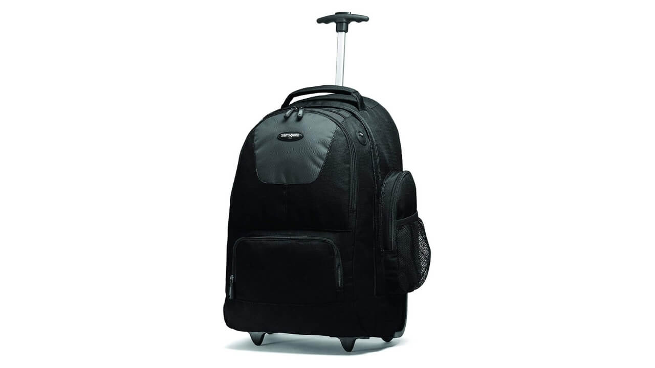 Samsonite Best Rolling Backpack For Travel