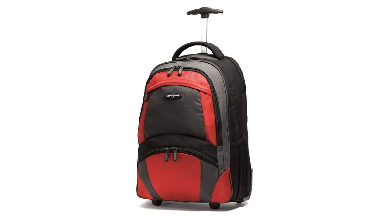 Samsonite Best Wheeled Backpack For Europe Travel