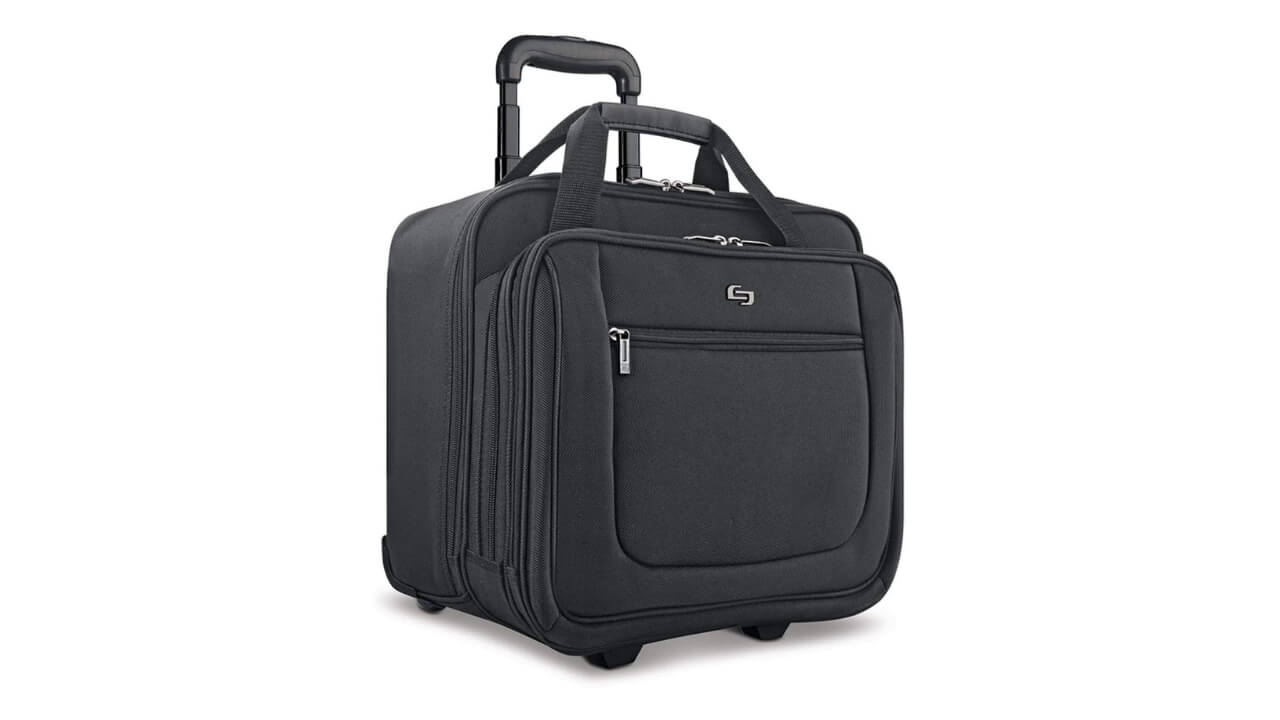 Solo New York Bryant Best Rolling Briefcase