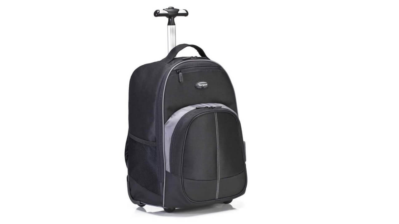 Targus Best Rolling Backpack For Travel