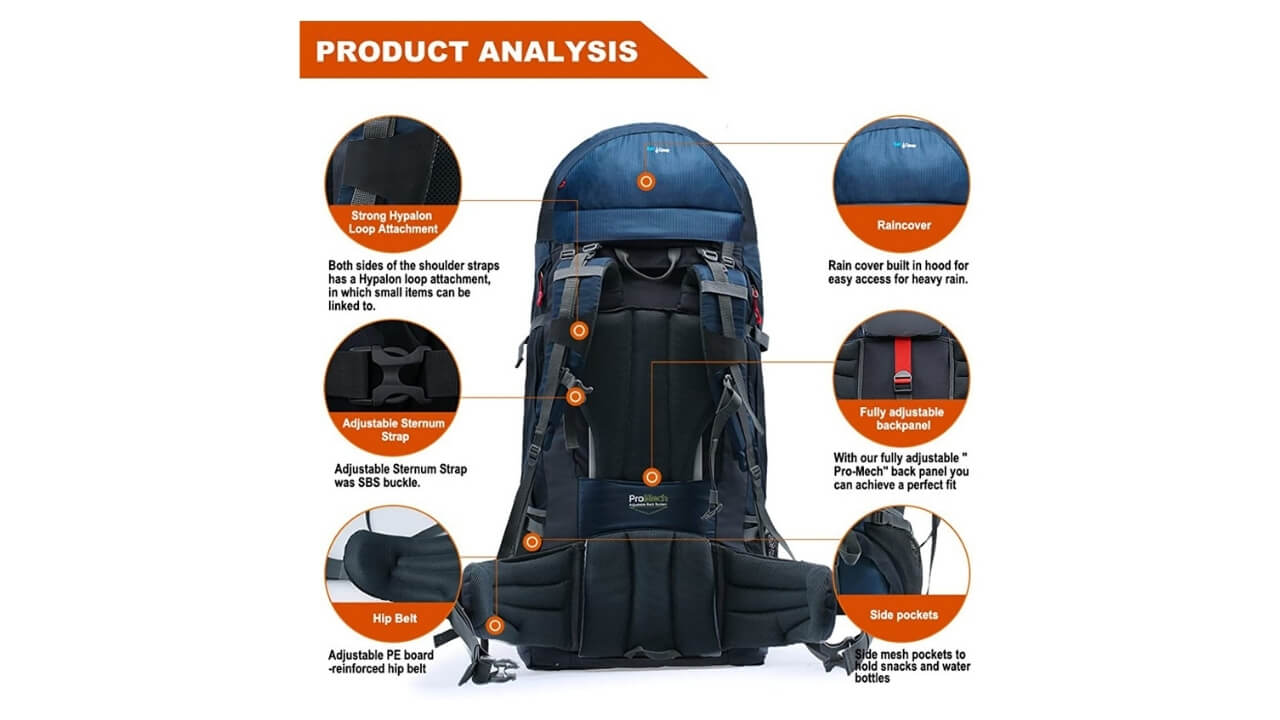 Terra Peak External Backpack